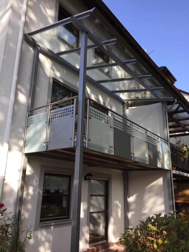 Uberdachung Balkon 412
