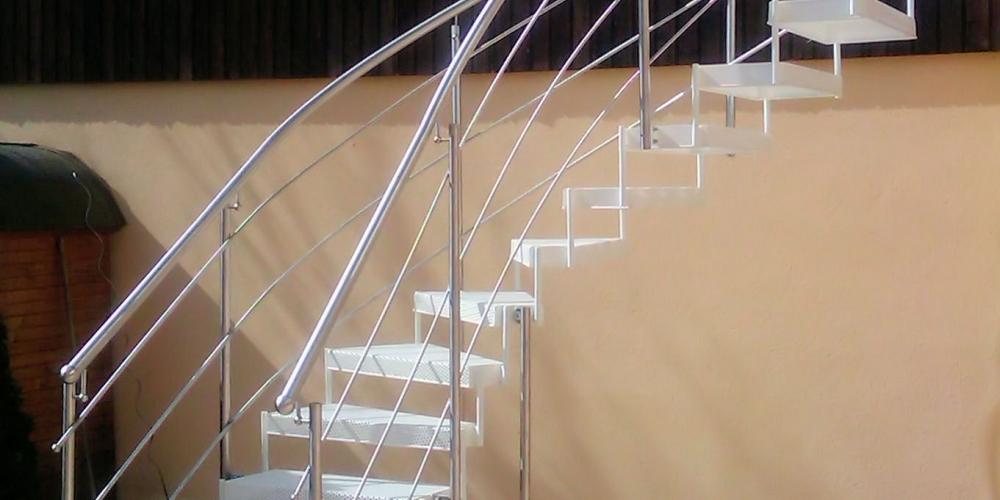 Gemauerte Treppengeländer aussen treppen treppe 8