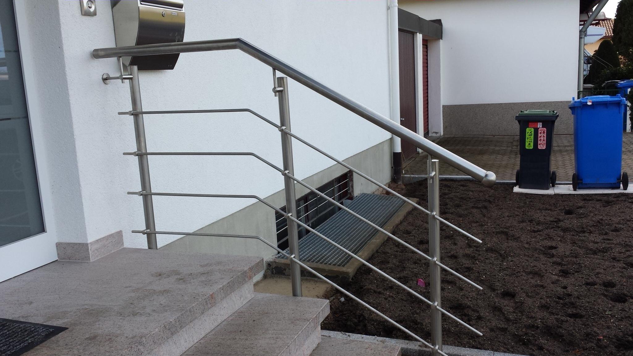 Zäune - Treppengeländer 219