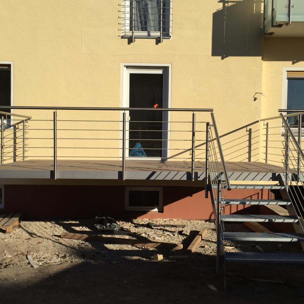 aussen gel nder terrasse terrassengel nder 254 1. Black Bedroom Furniture Sets. Home Design Ideas