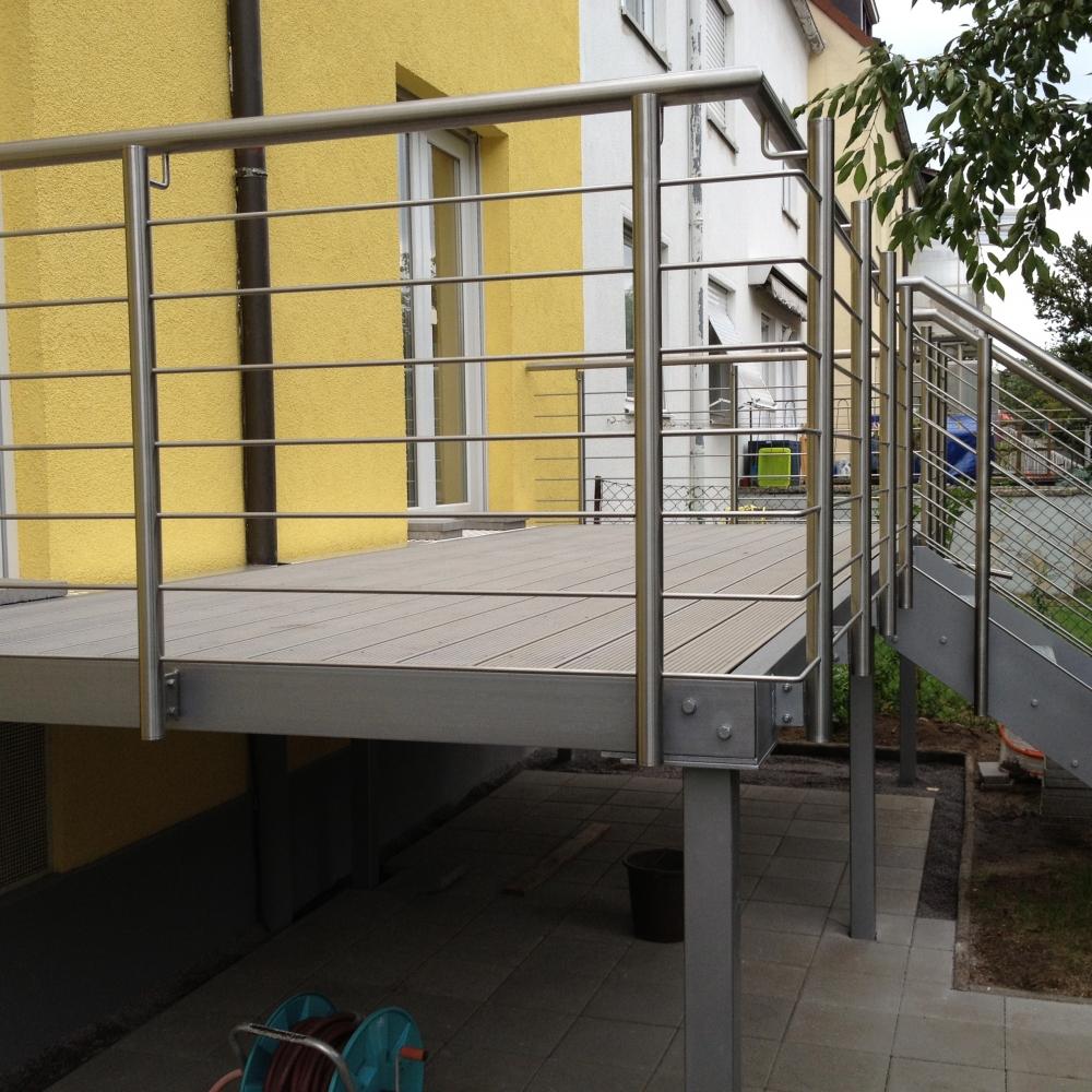 aussen gel nder terrasse terrassengel nder 233 2. Black Bedroom Furniture Sets. Home Design Ideas